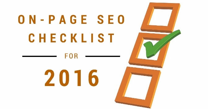 Checklist For On Page SEO