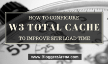 Configure W3 Total Cache To Reduce Page Load Time
