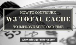 Configure W3 Total Cache
