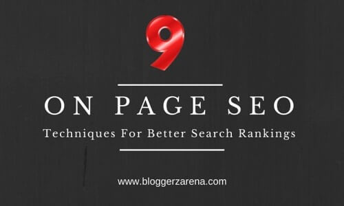 On Page SEO Optimization