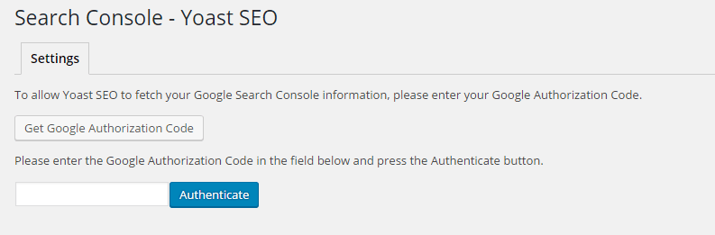 Seo By Yoast-Search Console