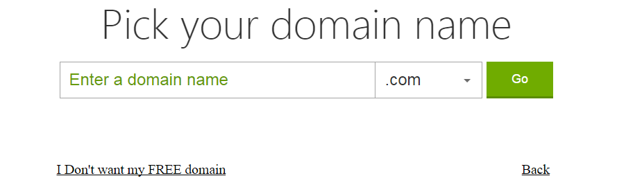 Free Domain Godaddy