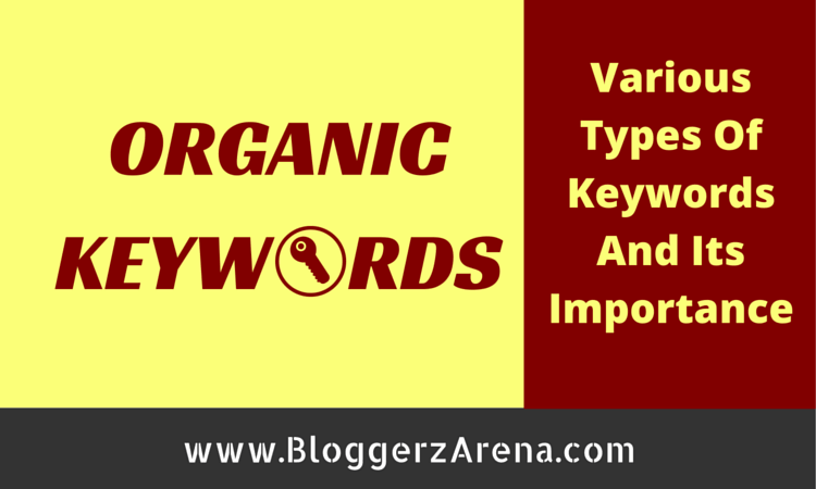 Types Of Organic Keywords