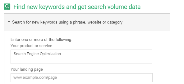 Google Keyword Planner To Find Long Tail Keywords