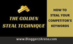 The Golden Steal Technique