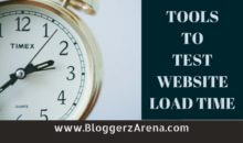 Top 5 Tools To Test Website Load Time