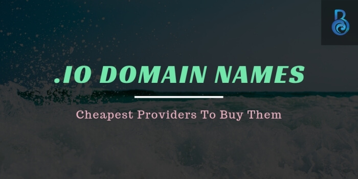 Cheapest .io Domain Names