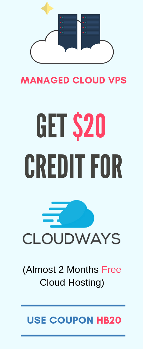 Cloudways Discount Coupon