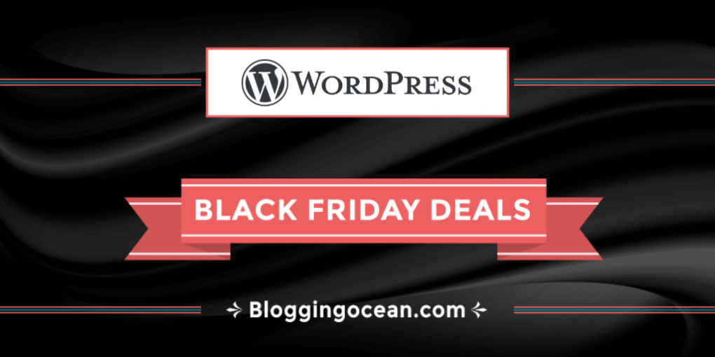 Black Friday WordPress Deals
